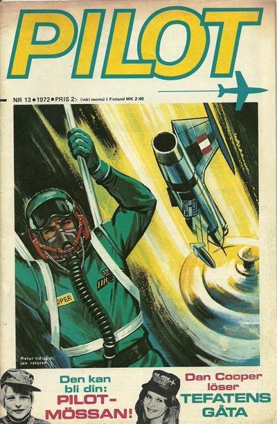 Cover for Pilot (Semic, 1970 series) #13/1972