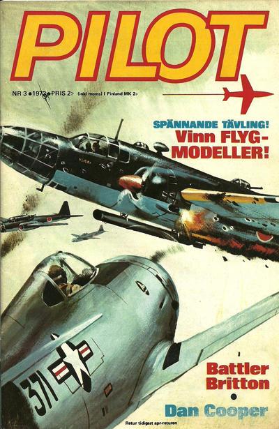 Cover for Pilot (Semic, 1970 series) #3/1973