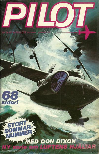Cover for Pilot (Semic, 1970 series) #7/1973