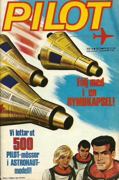 Cover for Pilot (Semic, 1970 series) #9/1973