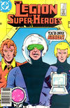 Cover Thumbnail for The Legion of Super-Heroes (1980 series) #312 [Newsstand]