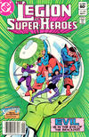 Cover for The Legion of Super-Heroes (DC, 1980 series) #303 [Newsstand]