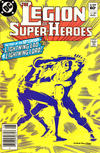 Cover for The Legion of Super-Heroes (DC, 1980 series) #302 [Newsstand]