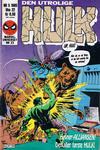 Cover for Hulk (Semic, 1984 series) #5/1985