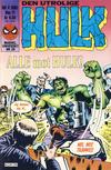 Cover for Hulk (Semic, 1984 series) #4/1985