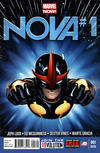 Cover Thumbnail for Nova (2013 series) #1 [2nd Printing]