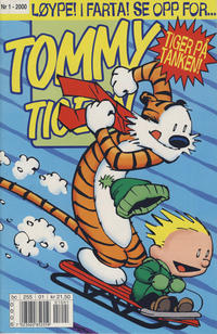 Cover Thumbnail for Tommy og Tigern (Bladkompaniet / Schibsted, 1989 series) #1/2000