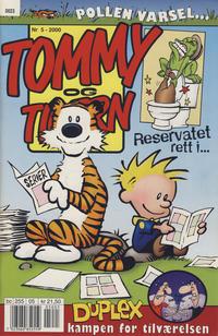 Cover Thumbnail for Tommy og Tigern (Bladkompaniet / Schibsted, 1989 series) #5/2000