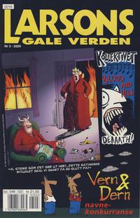 Cover Thumbnail for Larsons gale verden (Bladkompaniet / Schibsted, 1992 series) #3/2000