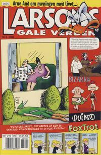 Cover Thumbnail for Larsons gale verden (Bladkompaniet, 1992 series) #5/2000