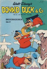 Cover Thumbnail for Donald Duck & Co (Hjemmet / Egmont, 1948 series) #26/1973
