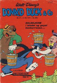 Cover Thumbnail for Donald Duck & Co (Hjemmet / Egmont, 1948 series) #27/1973