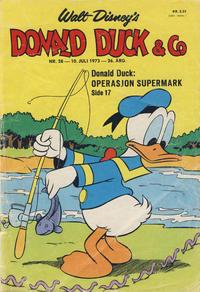 Cover Thumbnail for Donald Duck & Co (Hjemmet / Egmont, 1948 series) #28/1973