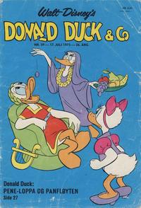 Cover Thumbnail for Donald Duck & Co (Hjemmet / Egmont, 1948 series) #29/1973