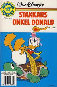 Cover Thumbnail for Donald Pocket (Hjemmet / Egmont, 1968 series) #17 - Stakkars onkel Donald [4. opplag]