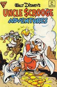 Cover Thumbnail for Walt Disney's Uncle Scrooge Adventures (Gladstone, 1987 series) #1 [Newsstand]