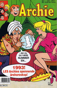 Cover Thumbnail for Archie (Semic, 1982 series) #1/1993