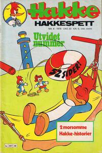 Cover Thumbnail for Hakke Hakkespett (Semic, 1977 series) #8/1978