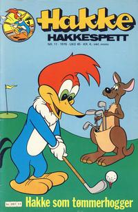 Cover Thumbnail for Hakke Hakkespett (Semic, 1977 series) #11/1978