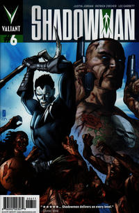 Cover Thumbnail for Shadowman (Valiant Entertainment, 2012 series) #6 [Cover A - Patrick Zircher]