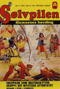 Cover Thumbnail for Sølvpilen (Allers Forlag, 1970 series) #9/1972