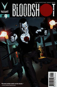 Cover Thumbnail for Bloodshot (Valiant Entertainment, 2012 series) #9 [Cover A - Clayton Henry]