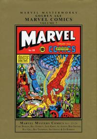 Cover Thumbnail for Marvel Masterworks: Golden Age Marvel Comics (Marvel, 2004 series) #7 [Regular Edition]