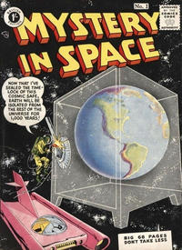 Cover Thumbnail for Mystery in Space (Thorpe & Porter, 1954 series) #1