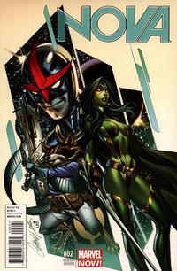 Cover for Nova (Marvel, 2013 series) #2 [J. Scott Campbell Variant]