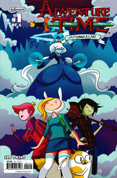 Cover for Adventure Time with Fionna & Cake (Boom! Studios, 2013 series) #1 [The Calgary Expo 2013 Exclusive Variant by Sho Uehara]