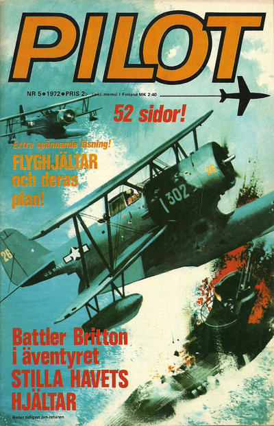 Cover for Pilot (Semic, 1970 series) #5/1972