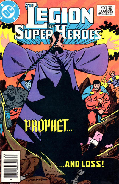 Cover for The Legion of Super-Heroes (DC, 1980 series) #309 [Direct]