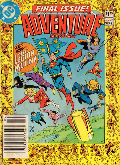 Cover for Adventure Comics (DC, 1938 series) #503 [Direct-Sales]