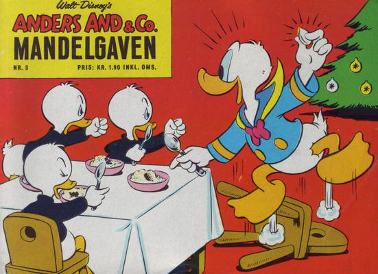 Cover for Anders And & Co. mandelgaven (Egmont, 1961 series) #3