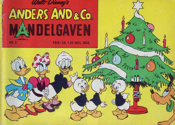 Cover for Anders And & Co. mandelgaven (Egmont, 1961 series) #4