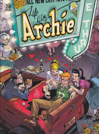 Cover for Life with Archie (Archie, 2010 series) #28 [Ramon Perez Variant]