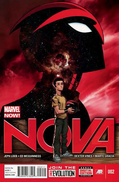 Cover for Nova (Marvel, 2013 series) #2