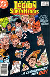 Cover Thumbnail for Tales of the Legion of Super-Heroes (1984 series) #329 [Newsstand Edition]