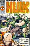 Cover for Hulk (Semic, 1984 series) #8/1985