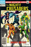 Cover for The Mighty Crusaders (Archie, 1983 series) #8 [Newsstand]
