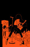 Cover for Adventure Time: Marceline and the Scream Queens (Boom! Studios, 2012 series) #5 [Cover D - James Hindle]