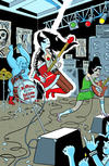 Cover for Adventure Time: Marceline and the Scream Queens (Boom! Studios, 2012 series) #6 [Cover D by Rich Tommaso]