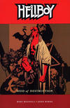 Cover for Hellboy (Dark Horse, 1994 series) #1 - Seed of Destruction [Third printing]