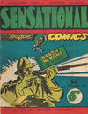 Cover for Sensational Comics (Frank Johnson Publications, 1946 series) #1