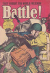 Cover for Battle! (Horwitz, 1954 ? series) #36