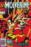 Cover for Wolverine (Marvel, 1988 series) #9 [Newsstand]