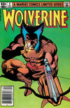 Cover for Wolverine (Marvel, 1982 series) #4 [Newsstand]