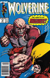 Cover Thumbnail for Wolverine (1988 series) #18 [Newsstand]