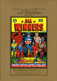 Cover Thumbnail for Marvel Masterworks: Golden Age All-Winners Comics (Marvel, 2005 series) #1 [Regular Edition]