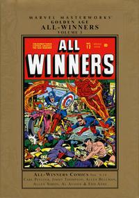 Cover Thumbnail for Marvel Masterworks: Golden Age All-Winners Comics (Marvel, 2005 series) #3 [Regular Edition]